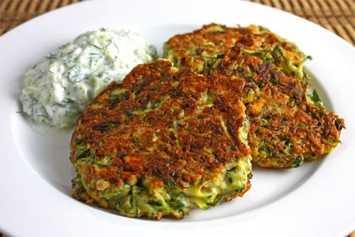Zucchini Keftedes With Feta And Dill Recipe — Dishmaps